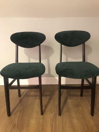 Krzesło PRL po renowacji