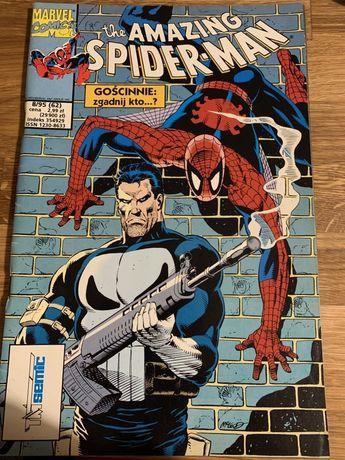 Komiks marvel the amazing spider-man 8/1995