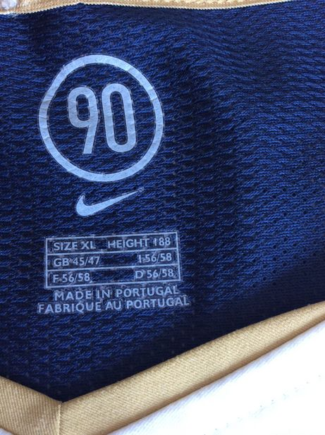 Camisa Portugal 2004- Away Nike Futebol