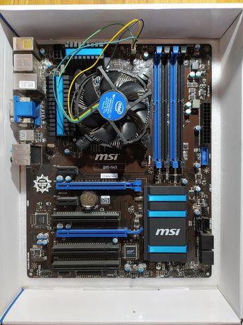 Zestaw płyta główna MSI + procesor Intel i5 + RAM 8GB