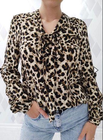 Блуза леопардова