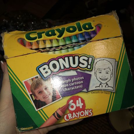 Карандаши восковые crayola кипр