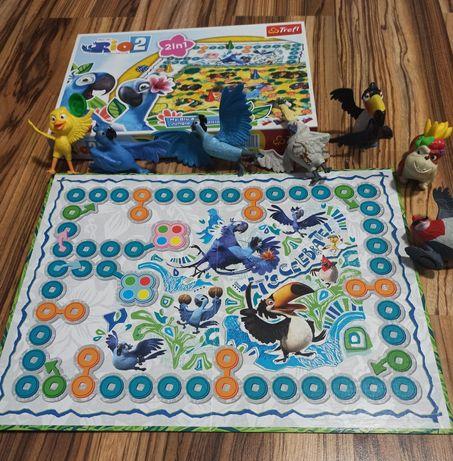 Rio bajka Blu Blue Julia Papugi