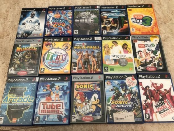 11 Jogos PS2