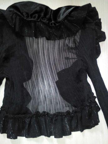 Болеро черное нарядное