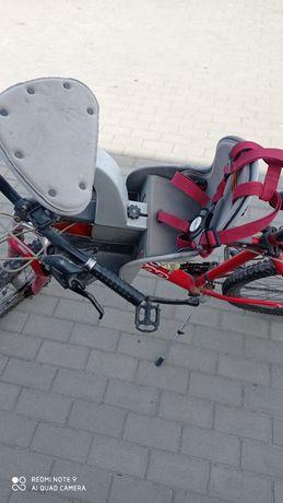 Fotelik rowerowy WeeRide czołowy