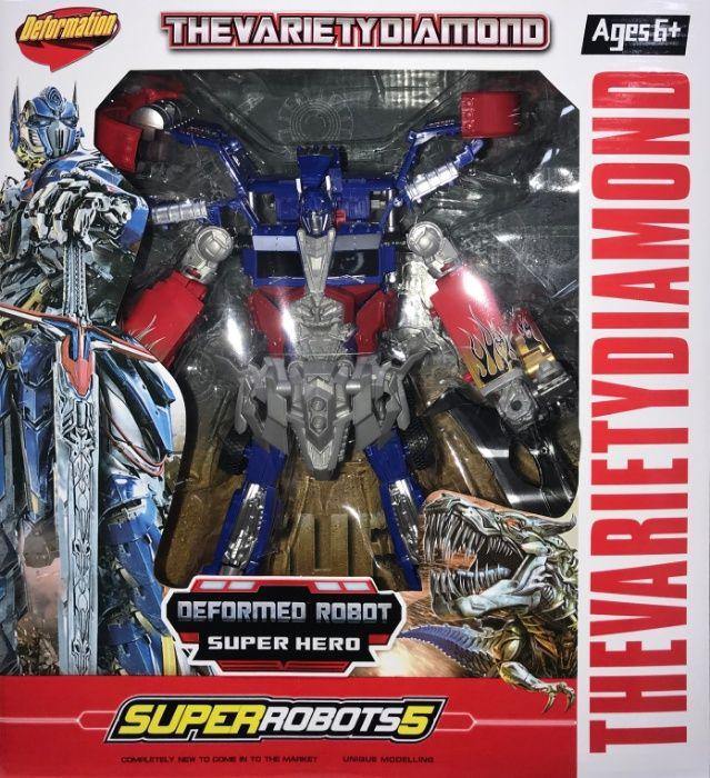 Zestaw Superrobots Figurka Robot Zabawka