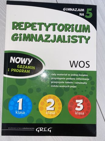 Repetytorium wos GREG