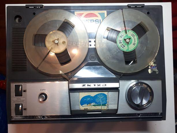 Magnetofon szpulowy Unitra Grundig ZK 120