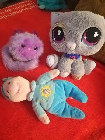 Мягкие игрушки пятачок котики