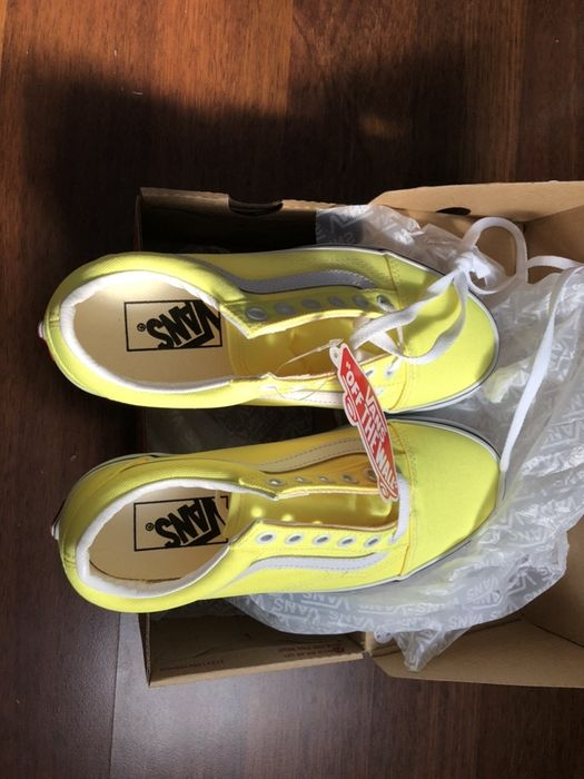 Vans Old Skool 36 22.5cm lemon żółte Skoczów - image 1