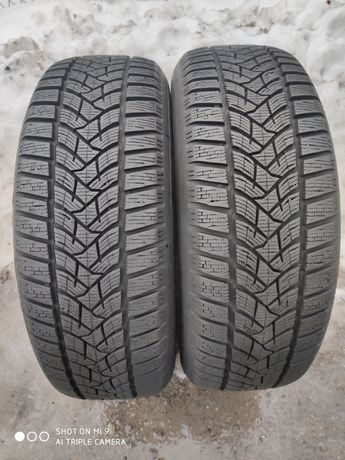 215/65r16 Dunlop Winter Sport 5 /// 8mm PARA stan idealny