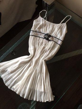 Sukienka suknia letnia biała