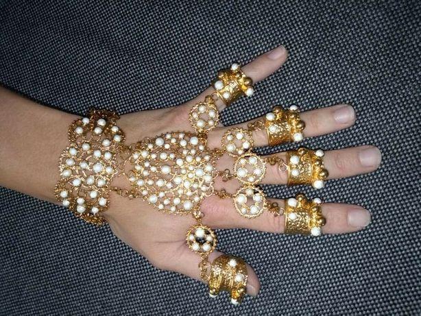 Ozdoby biżuteria na ręce