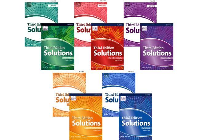 Solutions Elementary, Pre, Upper, Intermediate, Advanced(3-rd edition)