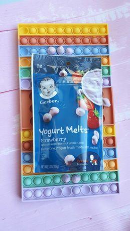 Йогуртовые и фруктовоовощные конфетки гербер, США!
