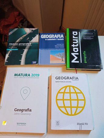 Książki maturalne do geografii