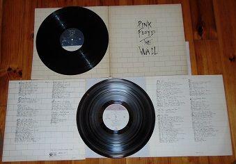 "Płyta winylowa Pink Floyd""The Wall"""