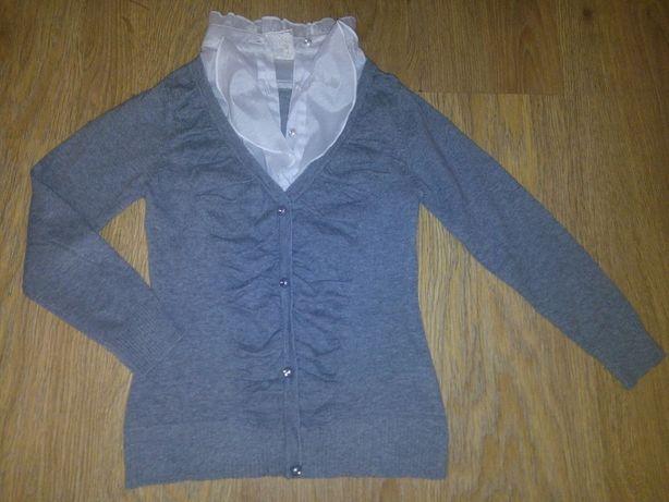 Школьный свитер блузка
