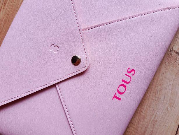 Kopertówka TOUS różowa torebka