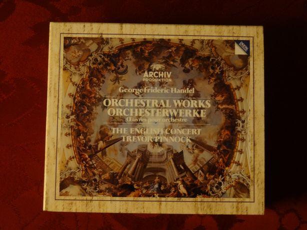 HANDEL, G. F. – Orchestral Works . Archiv Produktion   6 CD's