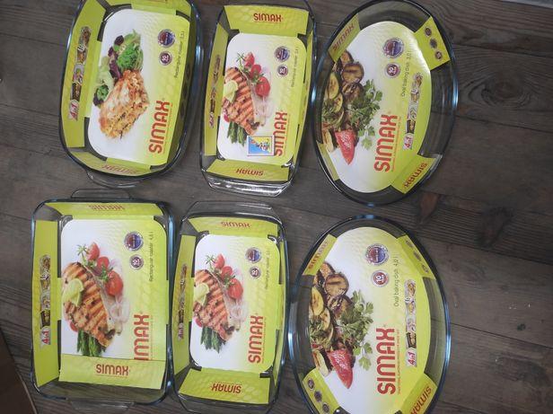 Simax жаростійка посуда кастрюлі гусятниці форми для запікання