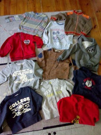 Bluzki, bluzy, rajstopki r. 98-104 chłopiec