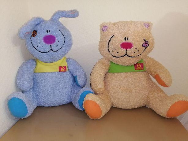 Мягкая игрушка кот и заяц