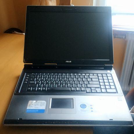 """Ноутбук ASUS A7U, 17"""",Без заливов и ремонтов! Все работает! ОС - WIN7"""