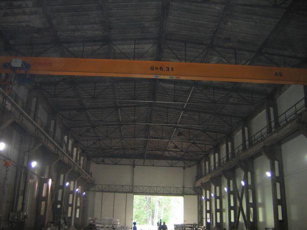 Wynajmę Halę 680 m kw. z suwnicą 6,3 tony