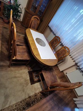 Okazja! Stół + 12 krzeseł, stan b. dobry!