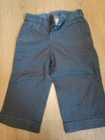 Eleganckie spodnie chłopięce roz. 62