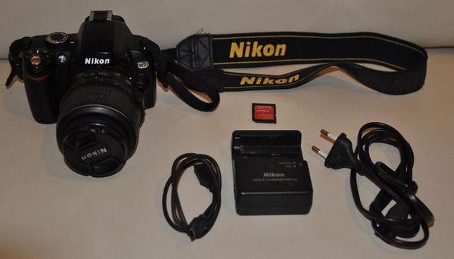Nikon d60 зеркалка 18-55