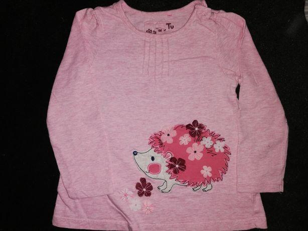Super bluzeczki 7szt. + sukieneczka r.92 - świnka Pepa