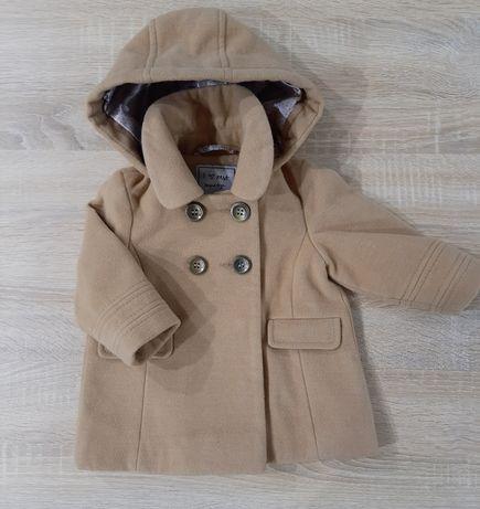Płaszcz dziewczęcy NEXT 6-9 miesięcy