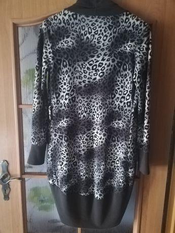 Sweter kardigan panterka
