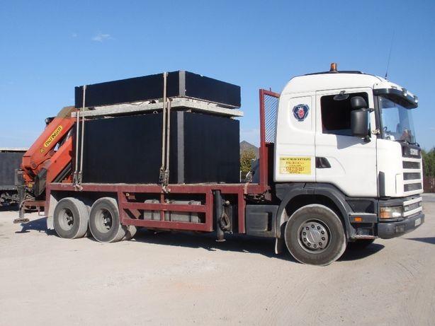 zbiornik betonowy szambo betonowe 8m3 transport szczelne solidne 12 6