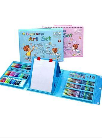 набір юного художника мольберт для малювання Super Mega Art Set 208