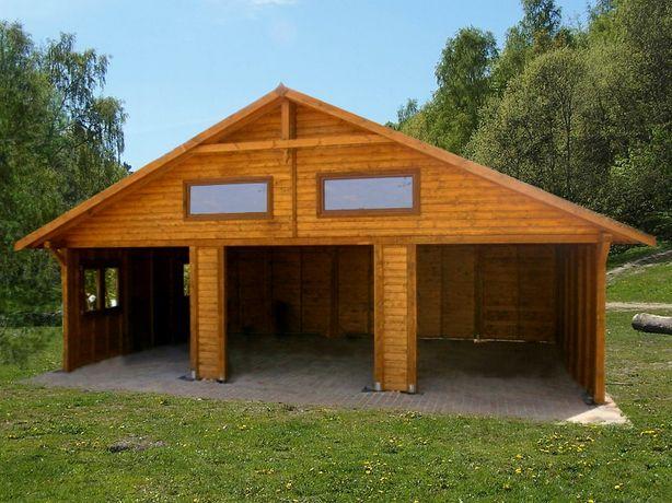 wiaty drewniane,garaż drewniany,budynki gospodarcze,magazyn,wiata,9x5m