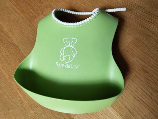 Нагрудник дитячий Babybjorn (46162) слюнявчик зелений