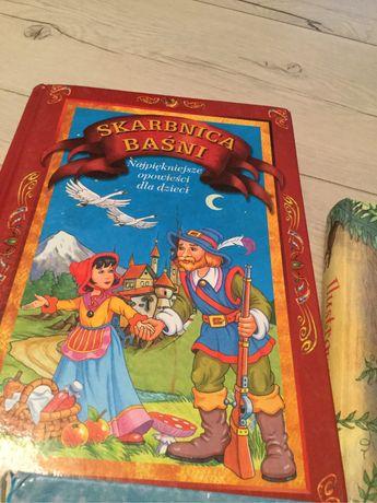 Bajki o zwierzętach, Skarbnica Baśni,  2 książki, super stan