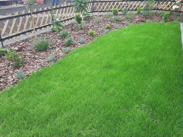 Zakładanie ogrodów-Prace ogrodnicze-Wycinka drzew,koszenie trawy,rębak