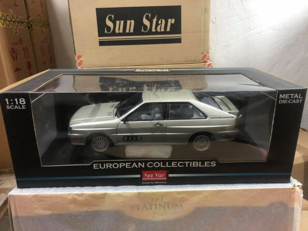 Audi Quattro 1981 Silver Sun Star 1:18 PROMOCJA !