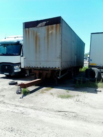 Грузовой прицеп Trouillet ET 3225 тент к грузовому тягачу полуприцеп
