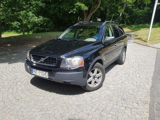 Volvo xc90 2.5t AWD lpg hak 7 osób 2004 zamiana na kampera