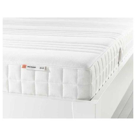 colchão matrand casal IKEA, espuma memory, 160x200 cm