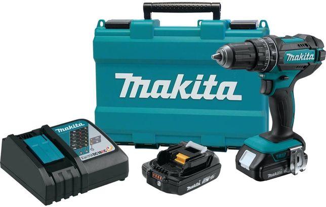 Makita XPH10R 18V Compact Lithium-Ion Cordless Hammer Driver-Drill Kit