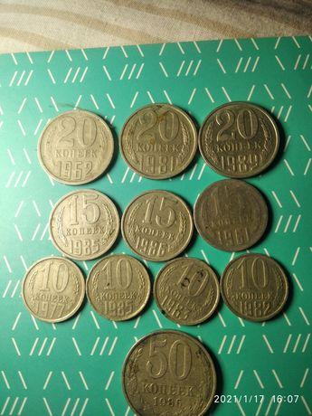 Монеты СССР , может кому не хватает в коллекцию