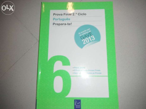 Livro de exames 6° ano portugues Gave