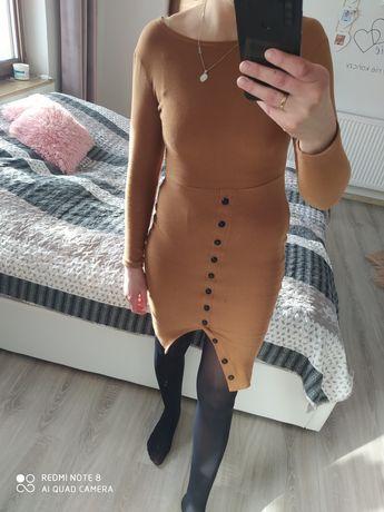 sukienka Wassyl rozmiar XS/S dłuższa prążkowana